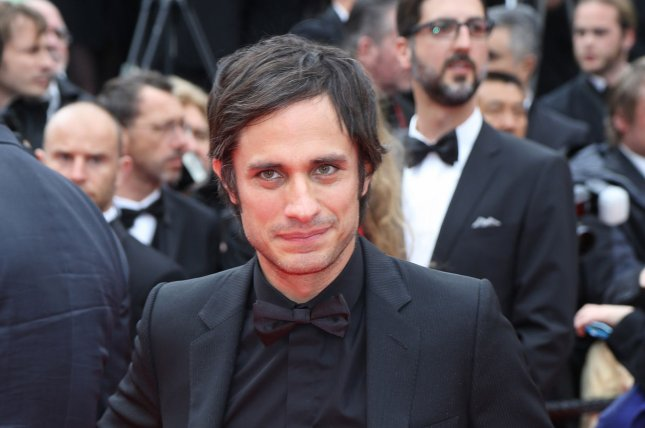 Gael Garcia Bernal arrives on the red carpet before the screening of Foxcatcher during the 67th annual Cannes International Film Festival in Cannes, France on May 19, 2014. UPI/David Silpa