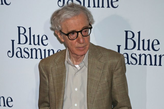 Woody Allen arrives at the French premiere of the film Blue Jasmine in Paris on Aug. 27, 2013. Photo by David Silpa/UPI