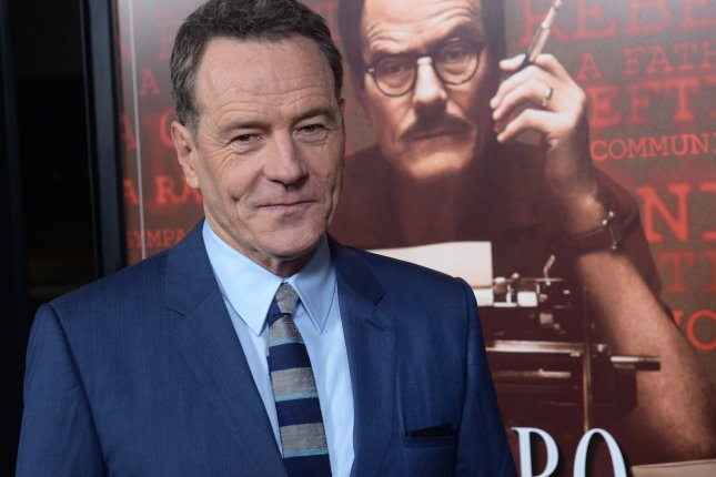 Cast member Bryan Cranston attends the premiere of the motion picture biographical drama Trumbo at the Academy of Motion Picture Arts & Sciences in Beverly Hills on Oct. 27, 2015. Photo by Jim Ruymen/UPI