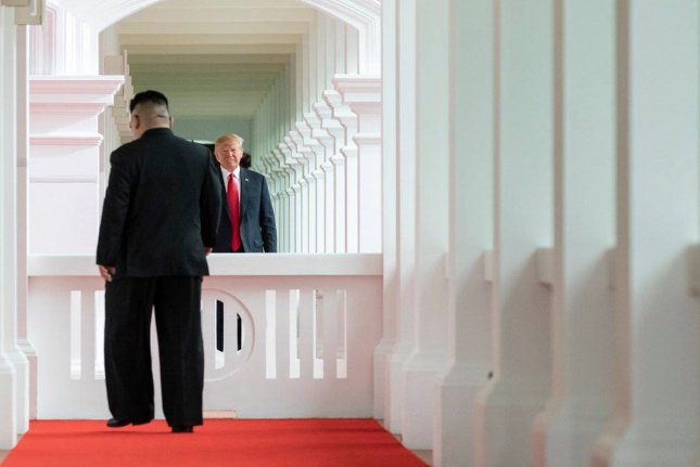 U.S. President Donald Trump's decision to send a letter to North Korean leader Kim Jong Un is being viewed favorably in Seoul. File Photo by Stephanie Chasez/White House
