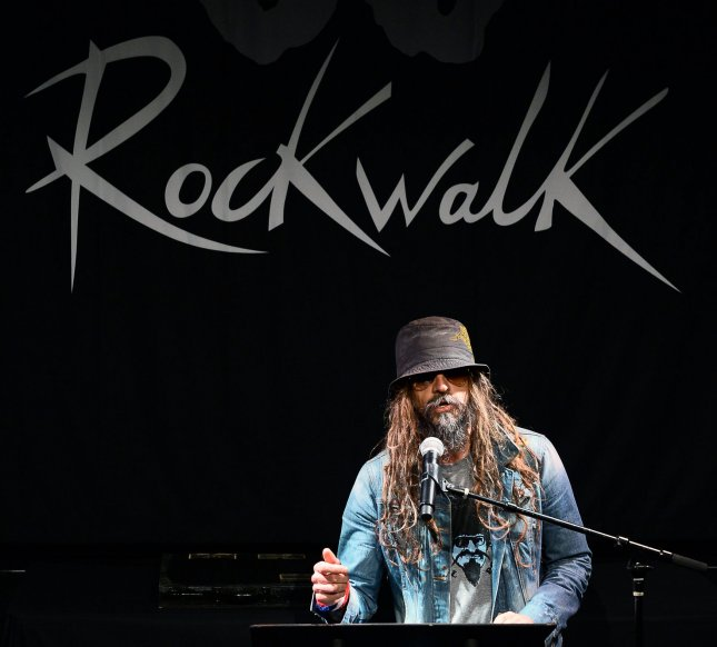 Musician, film director, producer and screenwriter Rob Zombie has been sharing his plans for his new Munsters movie. File Photo by Jim Ruymen/UPI