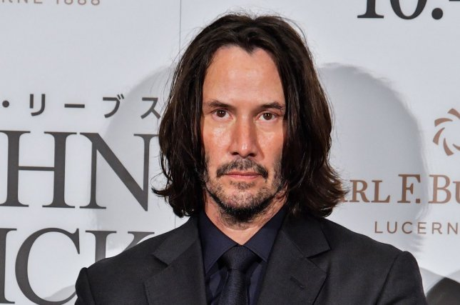 Keanu Reeves returns as Neo in the new film The Matrix Resurrections. File Photo by Keizo Mori/UPI