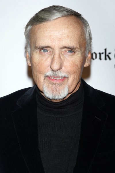 Dennis Hopper arrives for the 18th Annual Gotham Independent Film Awards at Cipriani Wall Street in New York on December 2, 2008. (UPI Photo/Laura Cavanaugh)