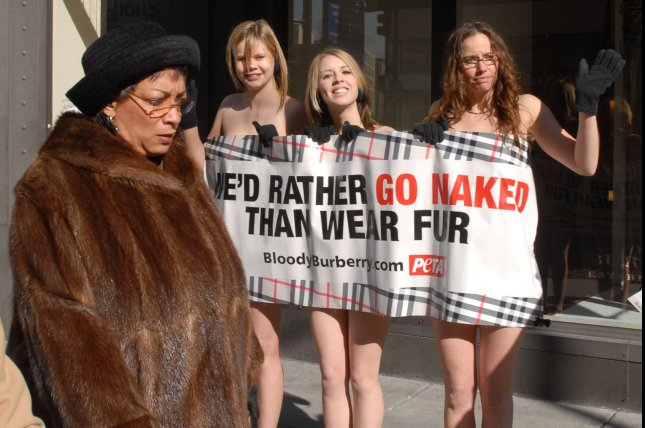Fur flies as Canada Goose protesters face off with