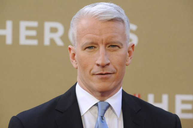 Anderson Cooper is slated to host a political game show on CNN. UPI/ Phil McCarten
