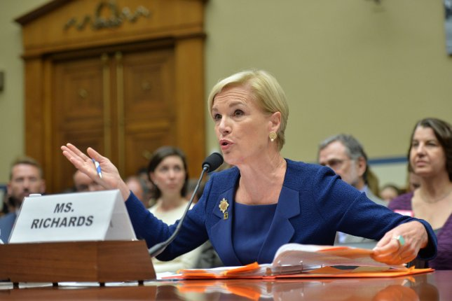 Cecile Richards, president of Planned Parenthood Federation of America, Inc., testifies Sept. 29 during a House Oversight Committee Hearing on taxpayer funding of her organization. She sent a letter to the National Institutes of Health on Tuesday saying Planned Parenthood will stop accept payment for fetal tissue used for research. Photo by Kevin Dietsch/UPI