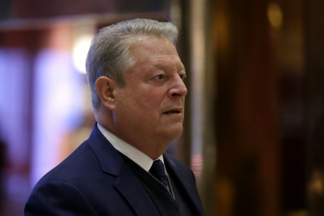 Former Vice President of the United States Al Gore arrives at Trump Tower on December 5 in New York City. Photo by John Angelillo/UPI