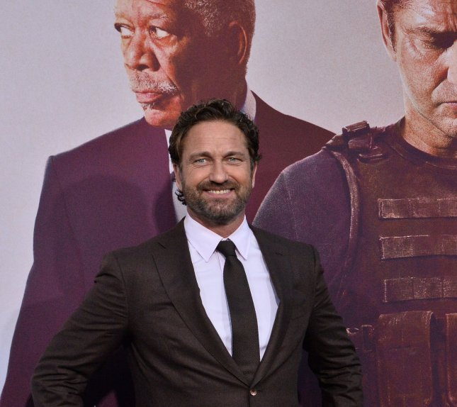 Gerard Butler can now be seen in the action picture, Greenland. File Photo by Jim Ruymen/UPI