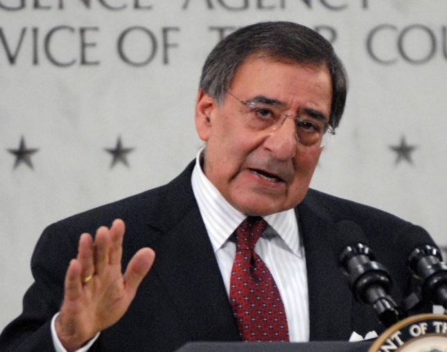Leon Panetta speaks after he was sworn-in as the director of the Central Intelligence Agency (CIA) at CIA Headquarters in McLean, Virginia on February 19, 2009. (UPI Photo/Alexis C. Glenn)