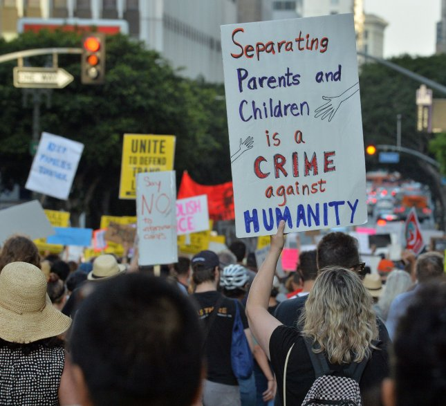 Department of Justice lawyers said a 7-year-old boy will be reunited with his mother after they were separated at the border while seeking asylum last month. Photo by Jim Ruymen/UPI