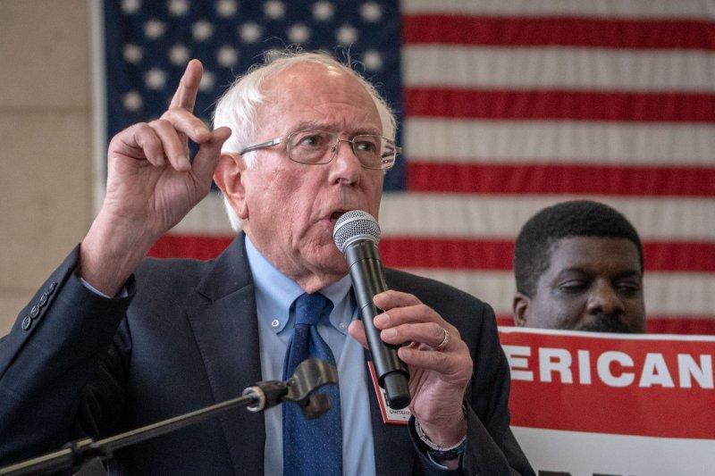 Sen. Bernie Sanders released a plan to reform the U.S. criminal justice system on Sunday. File Photo by Ken Cedeno/UPI