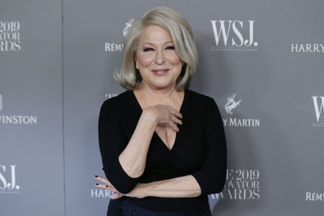 Bette Midler plays a woman arrested by police in Costal Elites. File Photo by John Angelillo/UPI