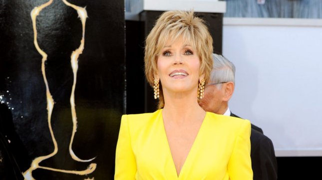 Jane Fonda arrives on the red carpet at the 85th Academy Awards at the Hollywood and Highlands Center in the Hollywood section of Los Angeles on February 24, 2013. UPI/Kevin Dietsch