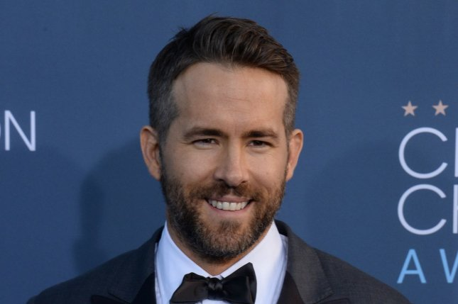 Ryan Reynolds is developing a film based on board game Clue with Fox. File Photo by Jim Ruymen/UPI