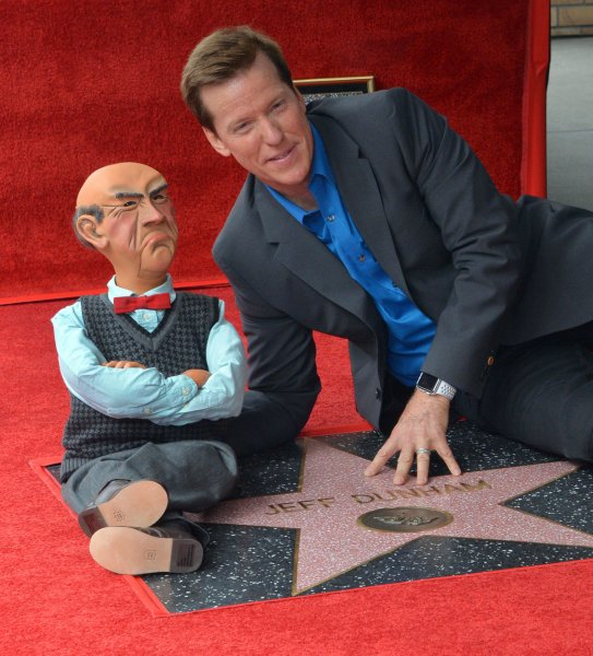 Ventriloquist and comedian Jeff Dunham said it's a difficult time for stand-ups, when something that seems like an innocent statement made on stage can later turn into a major controversy. File Photo by Jim Ruymen/UPI