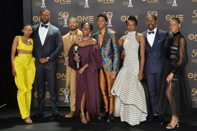 ABC is airing Black Panther on Sunday night, in honor of its star Chadwick Boseman, who died on Friday. File Photo by Jim Ruymen/UPI
