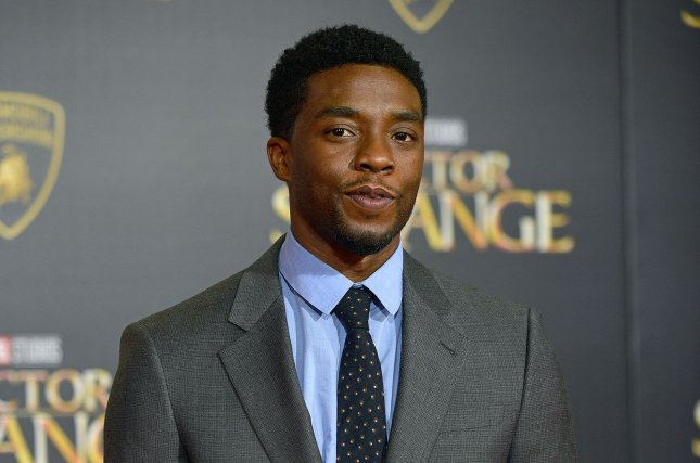 Chadwick Boseman stars in the latest trailer for Black Panther alongside Michael B. Jordan and Andy Serkis. File Photo by Christine Chew/UPI