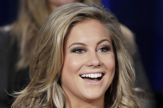 Shawn Johnson East won a gold medal at the 2008 Olympic Games in Beijing. She also won ABC's Dancing with the Stars in 2009. File Photo by John Angelillo/UPI