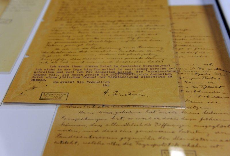 Essays written by einstein