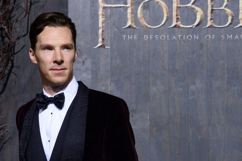 Cast member Benedict Cumberbatch. UPI/Jim Ruymen
