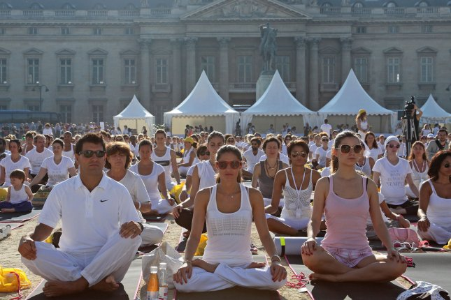 New research suggests yoga's benefits extend to heart health. File photo by UPI/David Silpa