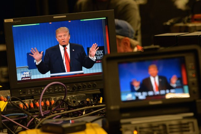Republican presidential nominee Donald Trump has reportedly enlisted the advice of former Fox News Channel chairman Roger Ailes to help him prepare for three televised debates with Hillary Clinton, the first of which takes place at New York's Hofstra University on Sept. 26. File Photo by Kevin Dietsch/UPI