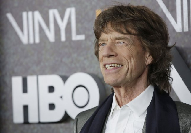 Mick Jagger arrives on the red carpet at the New York premiere of HBO's Vinyl in New York City on January 15, 2016. On August 16, several of HBO's Twitter accounts were hacked for approximately 40 minutes. File Photo by John Angelillo/UPI