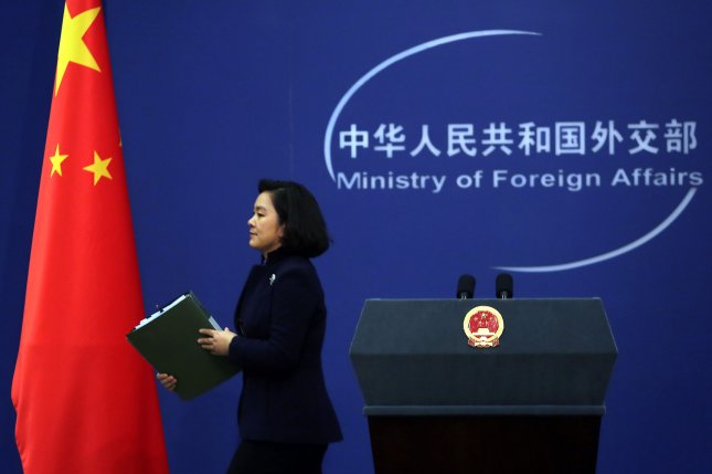 Chinese foreign ministry spokeswoman Hua Chunying warned Japan against militarization of helicopter carriers on Tuesday. File Photo by Stephen Shaver/UPI