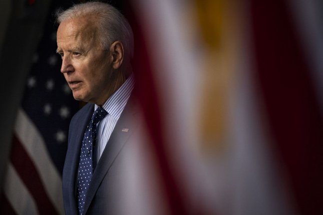 U.S. President Joe Biden on Tuesday signed an executive order giving more powers to the State Department and Treasury to sanction those threatening stability in the Western Balkans. Photo by Samuel Corum/UPI