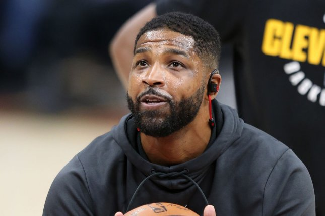 Cleveland Cavaliers forward Tristan Thompson. File photo by Aaron Josefczyk/UPI