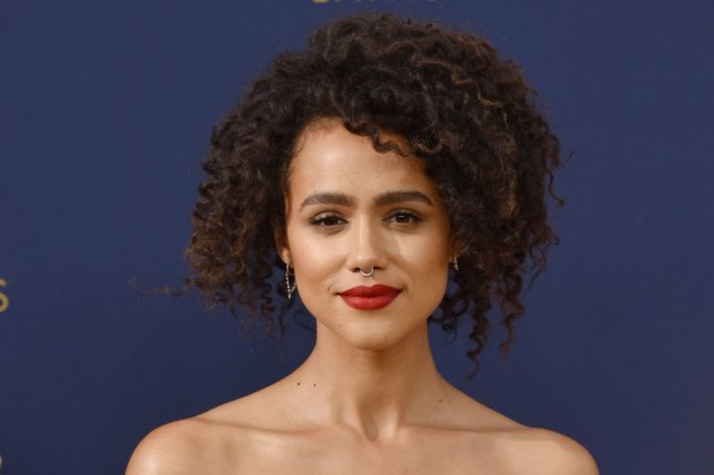 Nathalie Emmanuel plays Gwendoline in the new film Army of Thieves. File Photo by Christine Chew/UPI