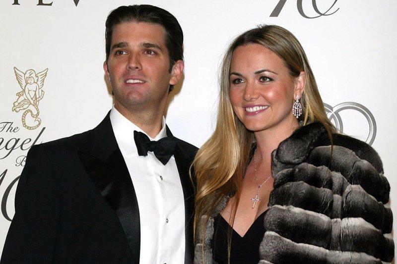 Donald Trump Jr. and his wife Vanessa. (UPI Photo/Laura Cavanaugh)