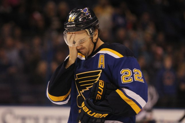 The Washington Capitals mortgaged some of their future to boost their current chances, acquiring defenseman Kevin Shattenkirk from the St. Louis Blues on Monday. File Photo by Bill Greenblatt/UPI