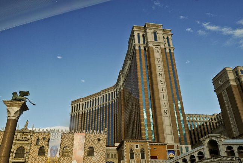 The Venetian Hotel and Casino is seen in Las Vegas, Nevada on April 19, 2010. UPI/Alexis C. Glenn