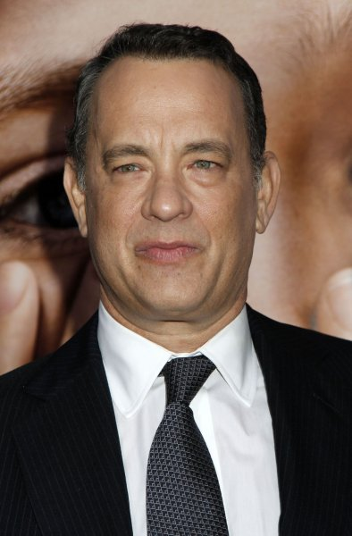 Tom Hanks arrives for the Extremely Loud and Incredibly Close premiere at the Ziegfeld Theatre in New York on December 15, 2011. UPI /Laura Cavanaugh