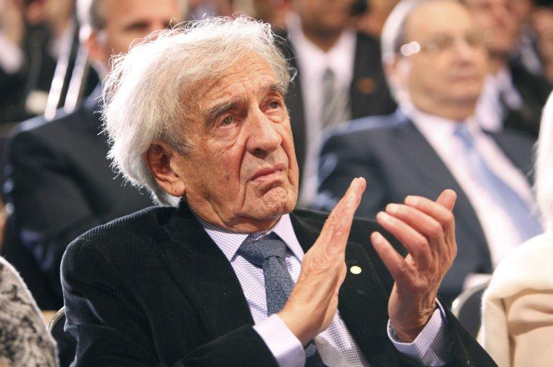 Nobel Peace Prize laureate and Holocaust survivor Elie Wiesel. UPI/Dennis Brack/Pool