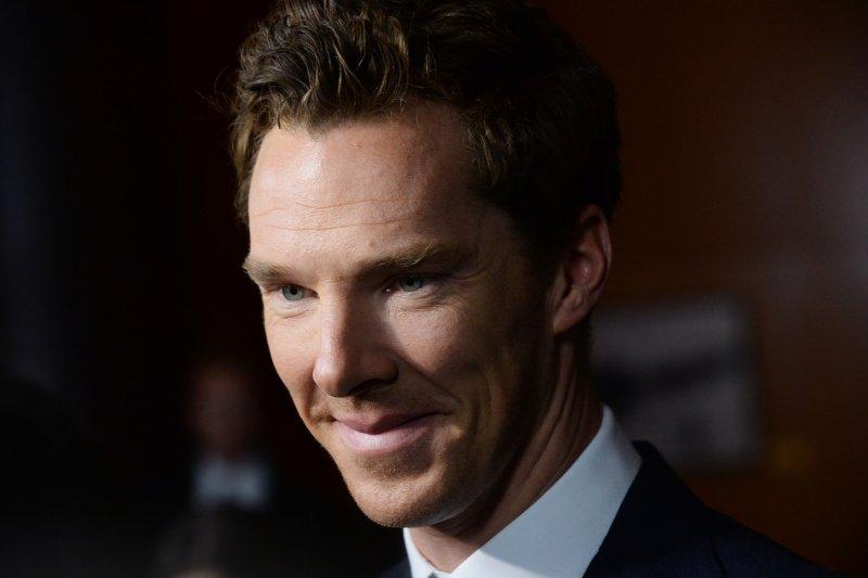 Benedict Cumberbatch. UPI/Jim Ruymen