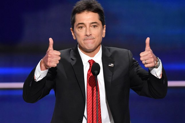 Actor Scott Baio speaks during the evening session on day one at the Republican National Convention at Quicken Loans Arena in Cleveland on July 18, 2016. File Photo by Kevin Dietsch/UPI