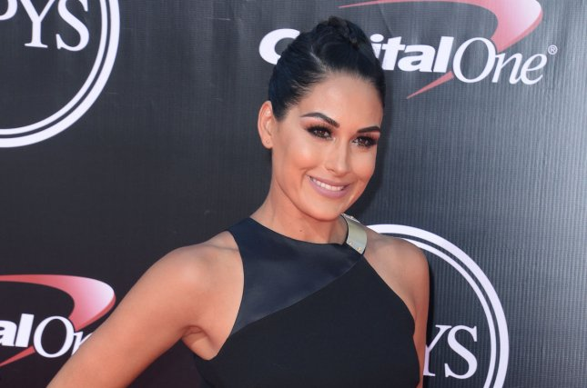 Brie Bella shared a body-positive message Tuesday on Instagram. File Photo by Jim Ruymen/UPI