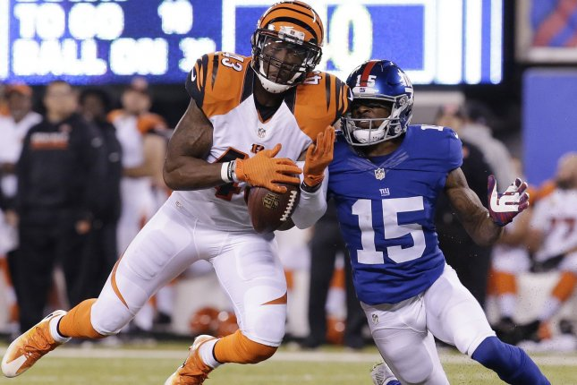 Former Cincinnati Bengals safety George Iloka has a new home after agreeing to a deal with the Dallas Cowboys. File Photo by John Angelillo/UPI
