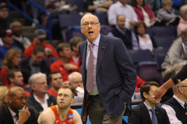 Syracuse Men S Basketball Coach Jim Boeheim Tests Positive For Covid 19 Upi Com