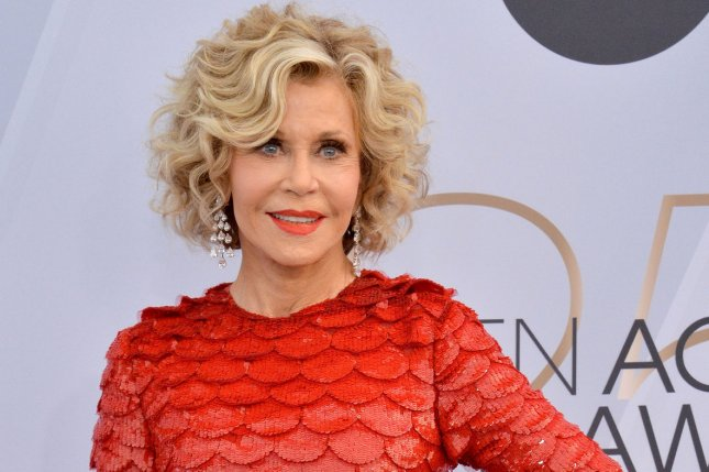 The Hollywood Foreign Press Association said Tuesday that Jane Fonda will receive the Cecil B. DeMille Award. File Photo by Jim Ruymen/UPI