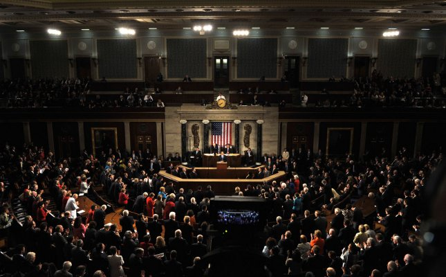 The collective net worth of U.S. congressmen was more than $2 billion last year, nearly 25 percent higher than in 2008, an analysis indicated. UPI/Roger L. Wollenberg