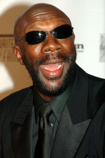 Musician Isaac Hayes, seen in this June 9, 2005 file photo. (UPI Photo/Ezio Petersen/Files)