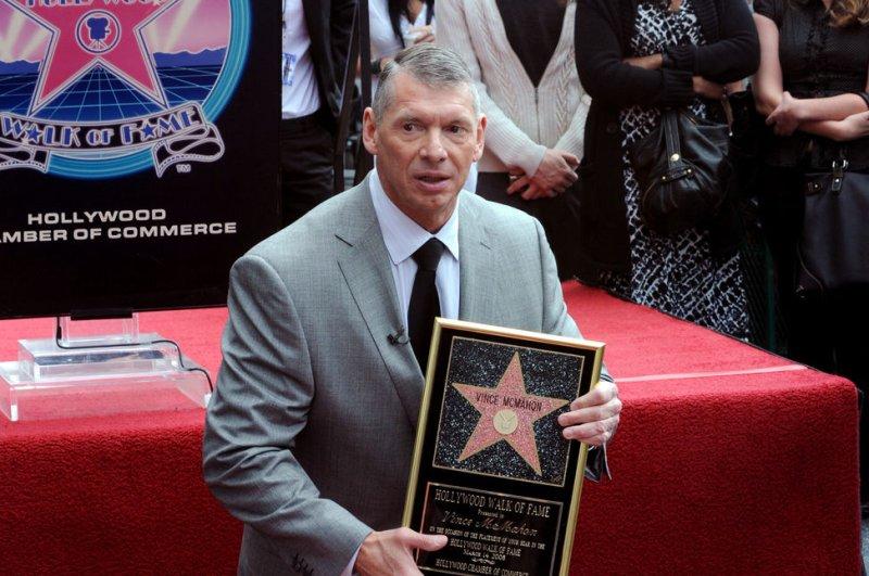 Vince McMahon. (UPI/Photo/Jim Ruymen)