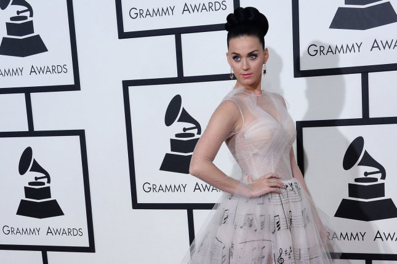 Katy Perry. UPI/Jim Ruymen