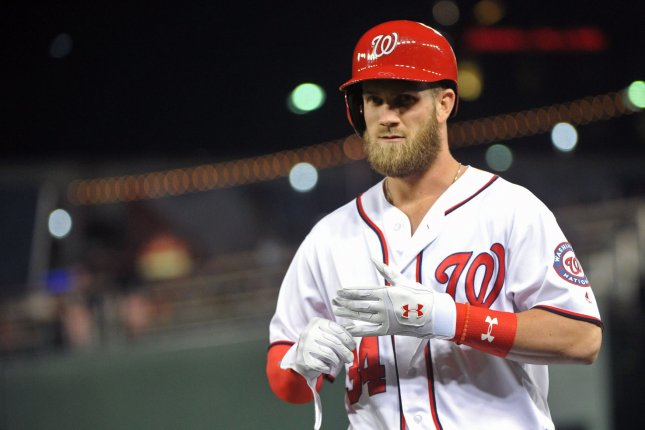2c769bf8c Under Armour signs Bryce Harper to multi-year extension: Harper One spikes  to be released in July