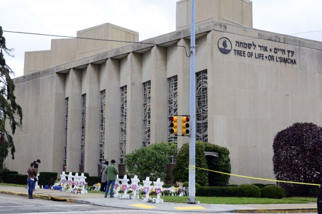 The Justice Department announced Monday that it will seek the death penalty for Robert Bowers, the accused gunman in the shooting at the Tree of Life Synagogue in Pittsburgh last year. File Photo by Archie Carpenter/UPI