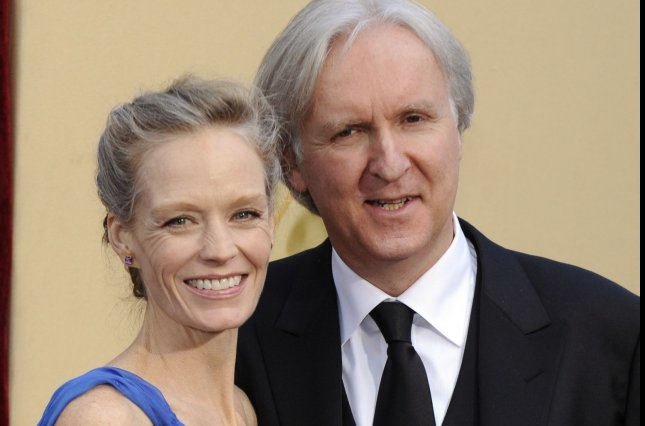 James Cameron, director of Avatar, and his wife Suzy Amis, arrive at the 82nd Academy Awards in Hollywood in 2010. Avatar is now the highest-grossing movie of all time. File Photo by Phil McCarten/UPI