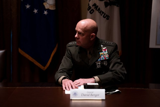 General David Berger, Commandant of the United States Marine Corps, is expected to be asked in May by the House Armed Services Committee to testify on on a Marine training accident last year. Pool Photo by Anna Moneymaker/UPI